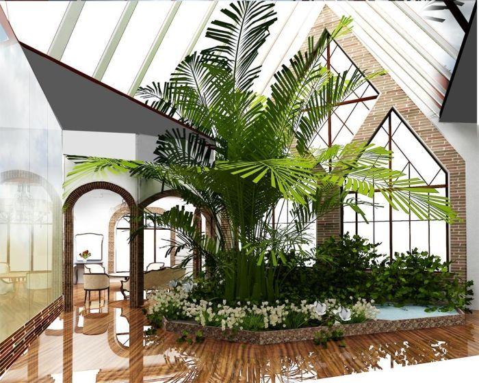 зимний сад в частном доме фото