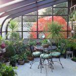 зиний сад в загородном доме