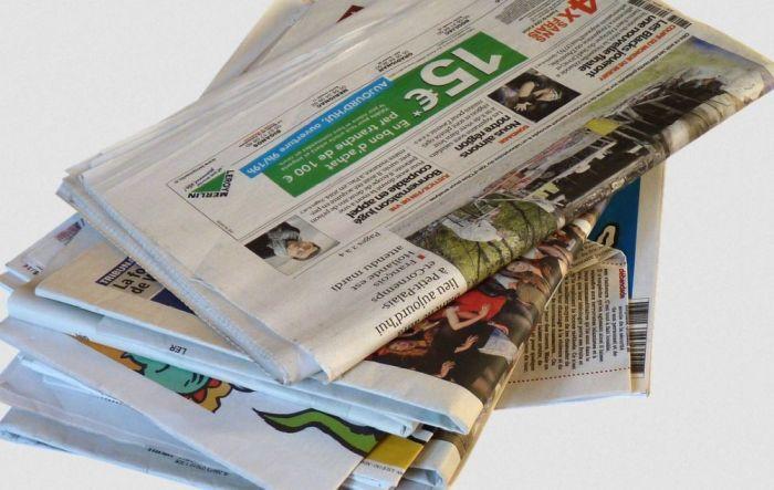 газета для хранения овощей