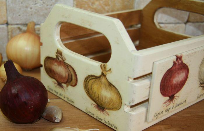 ящики для хранения репчатого лука