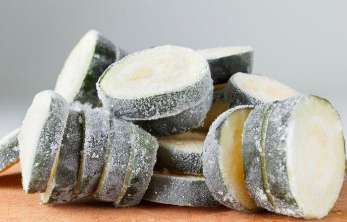 заморозка кабачков на зиму в домашних условиях