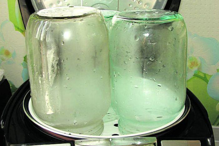 стерилизация банок для закаток