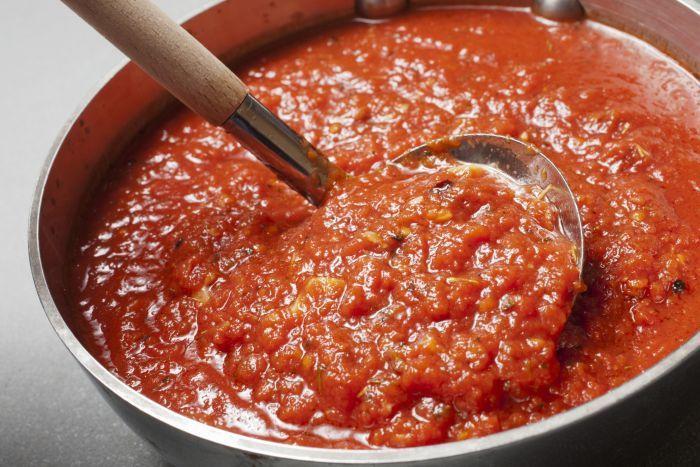 заготовка томатного соуса рецепт