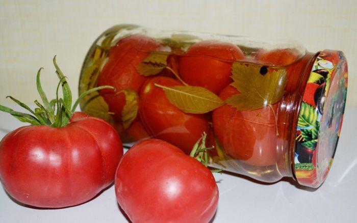 закрутка на зиму помидоров