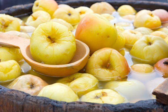 лучший рецепт моченых яблок на зиму