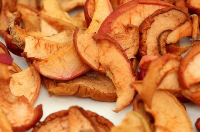 яблоки сушеные в пакете