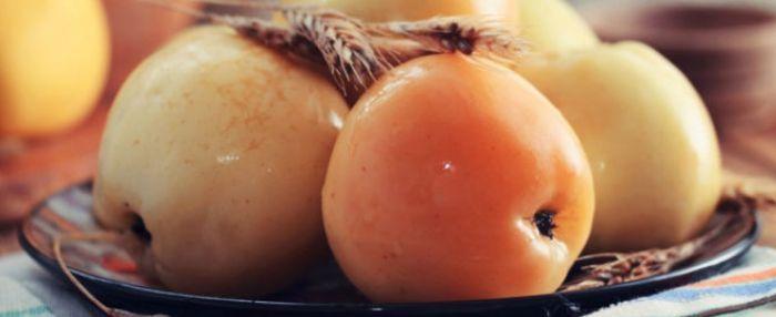 Моченые яблоки простой рецепт